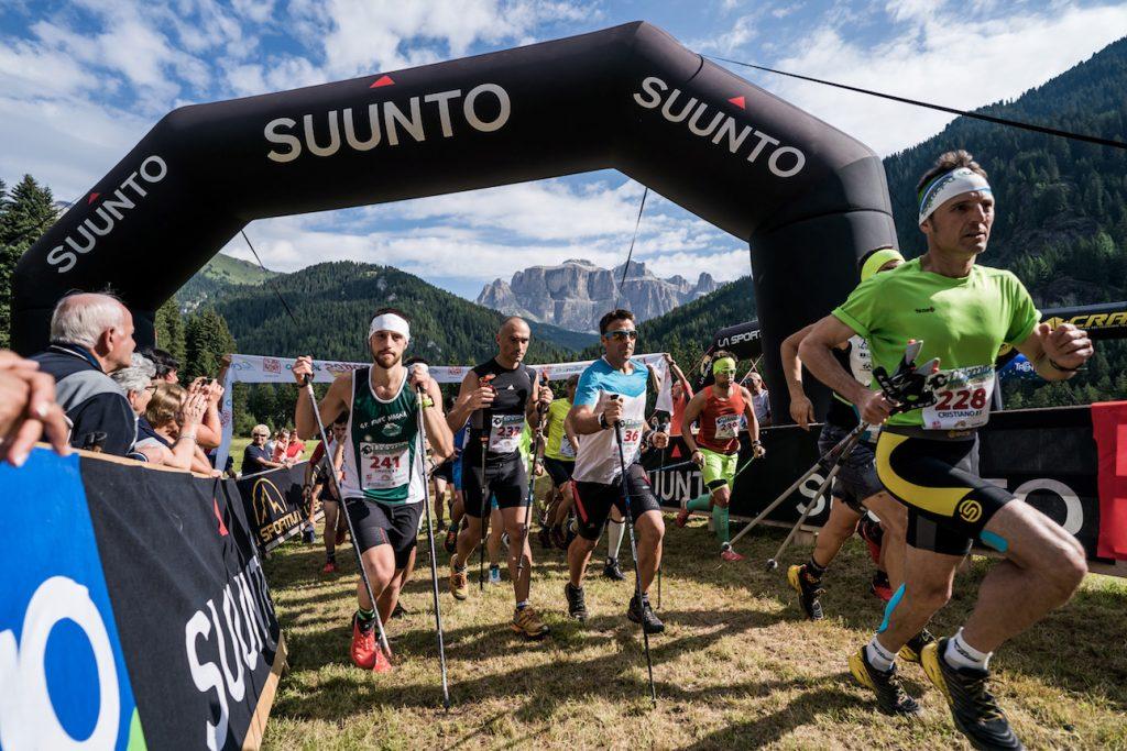 Dolomites Vertical Kilometer race start. ©iancorless.com / VKWC