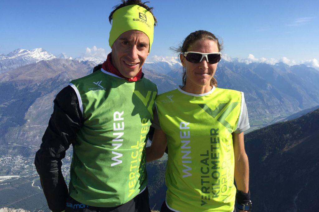 Les KM de Chando winners Martin Anthamatten and Christel Dewalle. ©VKWC