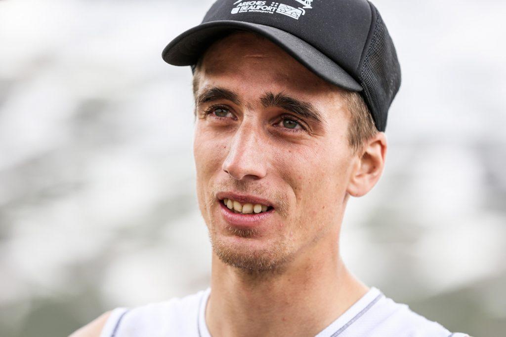 Race winner Xavier Gachet, Vertical du Grand Serre. ©iancorless.com / SWS