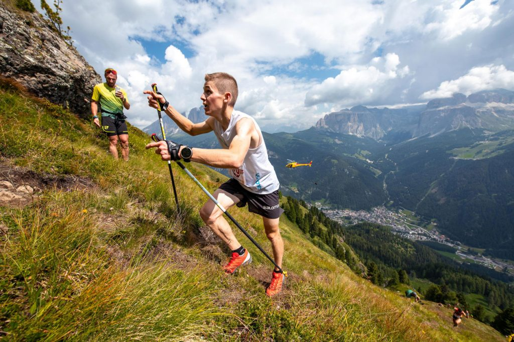 Davide Magnini, Dolomyths Run VK winner. ©PegasoMedia