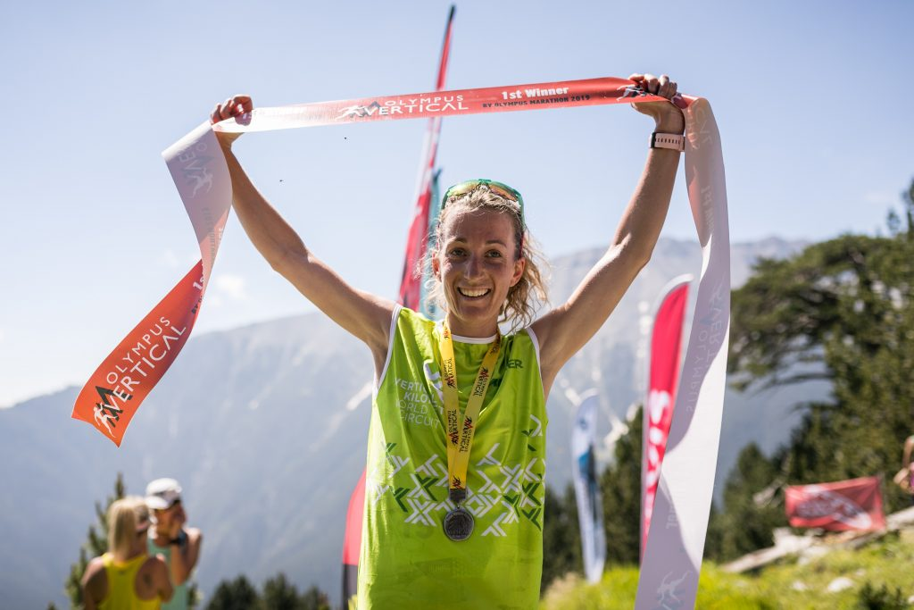 Jessica Pardin, female winner of the Olympus VK. ©VKWC / Guillem Casanova